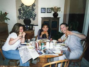 Sarah, Karen & Steph