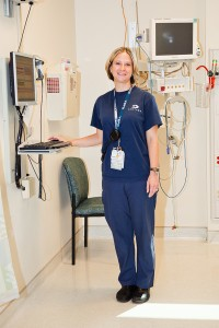 Katie Arnold, Charge Nurse